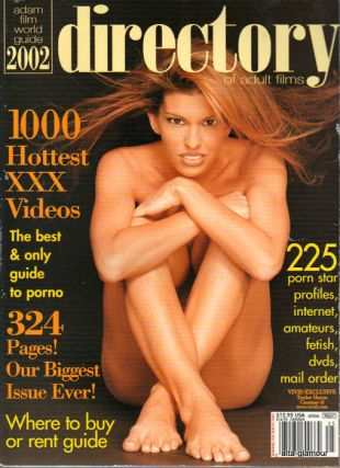 ADAM FILM WORLD GUIDE - DIRECTORY OF ADULT FILMS 2002