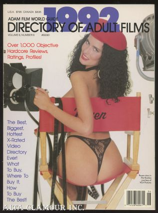 ADAM FILM WORLD GUIDE - DIRECTORY OF ADULT FILMS 1992