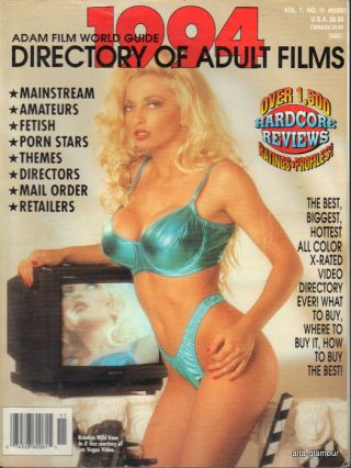 ADAM FILM WORLD GUIDE - DIRECTORY OF ADULT FILMS 1994