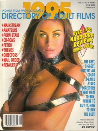 ADAM FILM WORLD GUIDE - DIRECTORY OF ADULT FILMS 1995