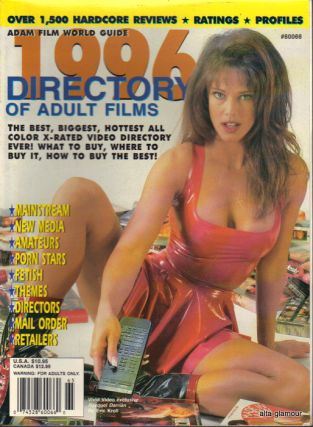 ADAM FILM WORLD GUIDE - DIRECTORY OF ADULT FILMS 1996