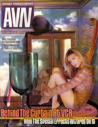 ADULT VIDEO NEWS [AVN] - October 2000; The Adult Entertainment Monthly