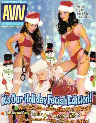 ADULT VIDEO NEWS [AVN] - December 2000; The Adult Entertainment Monthly