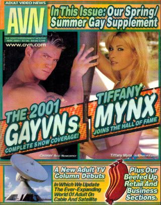 ADULT VIDEO NEWS [AVN] - May 2001; The Adult Entertainment Monthly