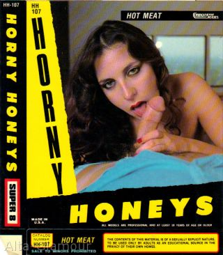 HOT MEAT - HORNY HONEYS - 8mm cover