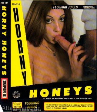 FLOODING JUICES - HORNY HONEYS - 8mm cover
