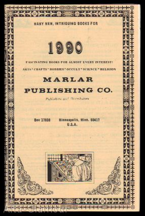MARLAR PUBLISHING CO.; Publishers and distributors