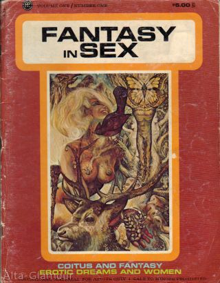 FANTASY IN SEX; The Photo-Magazine of Sexual Education for Adults