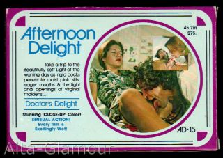 AFTERNOON DELIGHT - DOCTOR'S DELIGHT; 8mm film