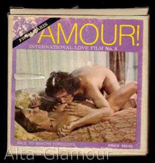 AMOUR! FROM PARIS - INTERNATIONAL LOVE FILM; 8mm film