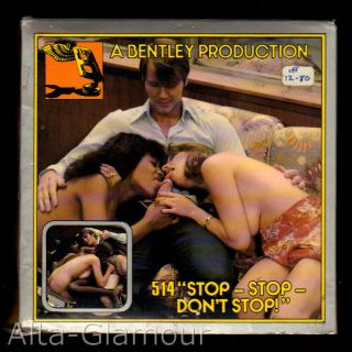 """BENTLEY PRODUCTIONS - """"STOP-STOP-DON'T STOP!""""""; 8mm film"