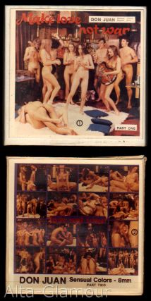 """DON JUAN - MAKE LOVE NOT WAR, PARTS ONE & TWO""; 8mm film"