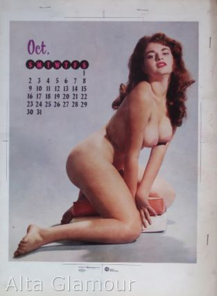 COLOR SEPARATION PROOF - PARLIAMENT CALENDAR, OCTOBER 1960 [Freddie Robbins]. Milton Luros, Publisher.