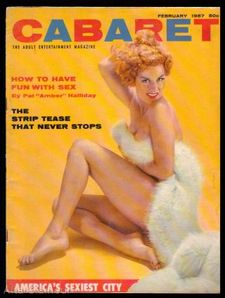 CABARET; The Adult Entertainment Magazine
