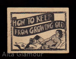 "HOW TO KEEP FROM GROWING OLD [DIXIE DUGAN IN ""DILDOED""]"