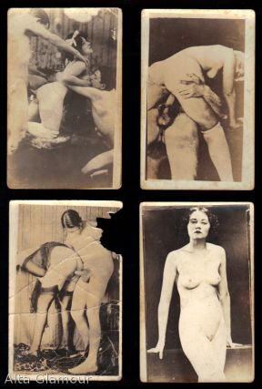 GROUP OF 19 PORNOGRAPHIC PHOTO POSTCARDS
