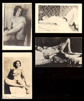 GROUP OF FOUR PHOTO POSTCARDS - Nude Female