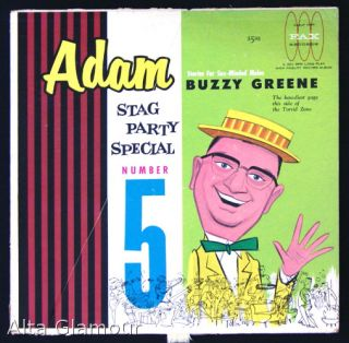 ADAM STAG PARTY SPECIAL - LP Record; Stories For Sex-Minded Males; The bawdiest gags this side of...