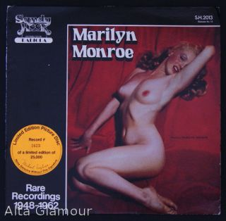 MARILYN MONROE - Rare Recordings 1948-1962