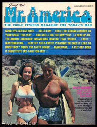 MR. AMERICA; The Virile Fitness Magazine for Today's Man