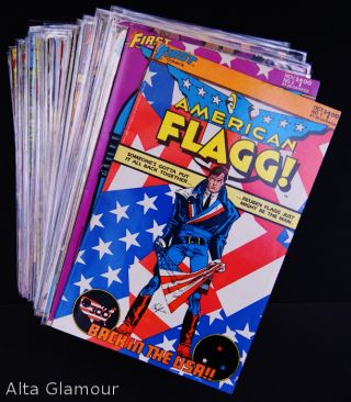 AMERICAN FLAGG. [Nos. 1 - 50] together with HOWARD CHAYKIN'S AMERICAN FLAGG! [Nos. 1 - 12; and the Special Issue No. 1]
