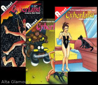 "CYBERLUST; The First Computer Generated Erotic Comic! Scott"" ""Bieser."