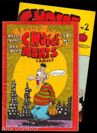 "CHOICE MEATS COMICS. G."" ""Hansen."