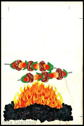 ORIGINAL ART - Kebabs Over Fire Collage