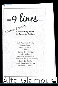 9 LINES; A Colouring Book by Toronto Artists