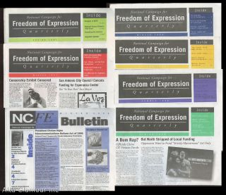 THE NATIONAL CAMPAIGN FOR FREEDOM OF EXPRESSION QUARTERLY