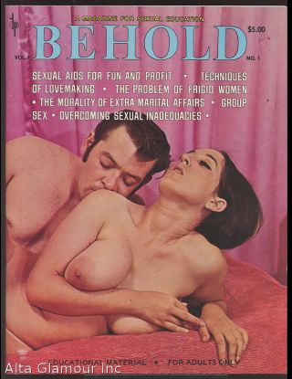 BEHOLD; A Magazine for Sexual Education