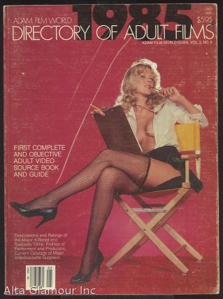 ADAM FILM WORLD GUIDE - DIRECTORY OF ADULT FILMS 1985
