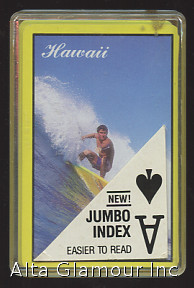 HAWAII PLAYING CARDS (Surfer). Playing Cards.