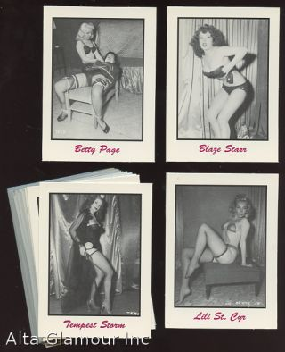 50's PIN-UP GIRLS; Trading Cards. Trading Cards