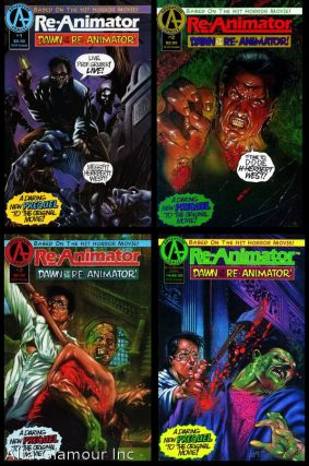 RE-ANIMATOR; Dawn of the Re-Animator. Bill Spangler, writer and Jose Malaga, artist.