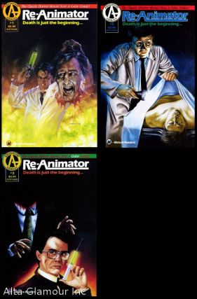 RE-ANIMATOR; Death Is Just Beginning. Philip Jones, writer and Christopher Jones, artist.