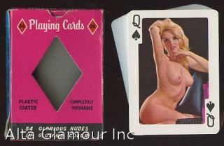 'NAKED TRUTH' PLAYING CARDS. Playing cards