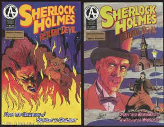 SHERLOCK HOLMES: Return of the Devil. Martin Powell, Seppo Makinen.