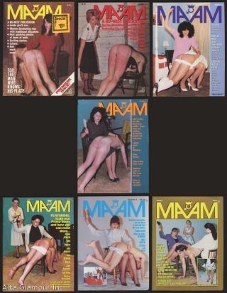 MA'AM [set of seven issues