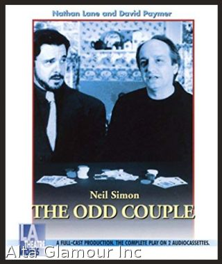 THE ODD COUPLE (Audio Cassette). Neil Simon.