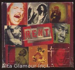 RENT - Original Broadway Cast Recording (Audio Cassette). Jonathan Larson.
