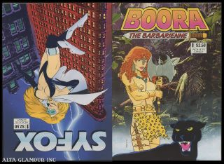 BOORA THE BARBARIENNE / SYFOX. Woodman, The Kid