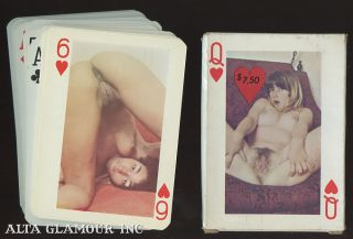 'WILLING GIRLS' PLAYING CARDS. Playing cards